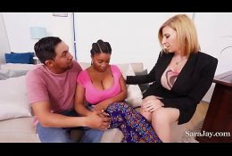 Analyze tits & big dicks ft. Sara Jay and Juan Largo