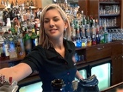Gorgeous Czech Bartender Talked into Bar for Quick Fuck