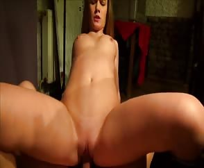 Moaning Girlfriend Rides Cowgirl With Creampie